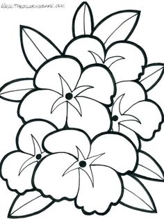 41 Best Flowers And Hearts Coloring Pages Images In 2019