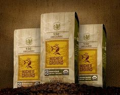 100% Organic, Fair Trade, Shade Grown Coffee. If you want to purchase coffee that is pesticide and chemical free and also environmentally friendly. Check out Higher Ground Roasters at highergroundroasters.com and type in promo code BackToSchool to receive 15% off your order. We also are part of the 1% for the planet, giving 1% of our total profits to Non-Profit organizations.