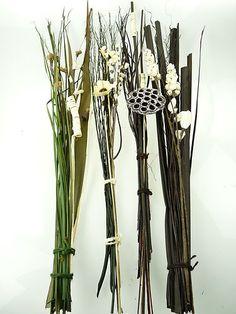 Large Dry Dried Flower Floral Bouquet Bunch Leaf Leaves Wedding Vase Filler   eBay