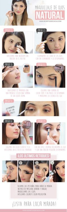 Maquillaje natural paso a paso