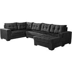 Sof 5 lugares sevilha tecido suede amassado bege for Sofa 6 lugares reclinavel e assento retratil roma suede amassado marrom orb