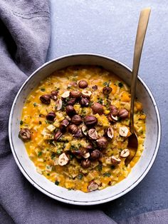 Risotto de crozets Alpina au potiron et beaufort - Clemfoodie Low Carb Recipes, Soup Recipes, Healthy Recipes, Drink Recipe Book, Warm Food, Greens Recipe, Health Eating, Healthy Drinks, My Favorite Food