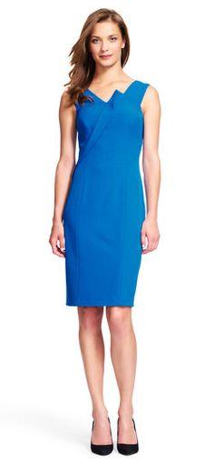 Adrianna Papell | Origami Sheath Dress