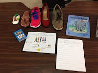 Put yourself in someone else's shoes...perspective taking activity  #social skills