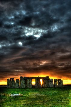 Stonehenge - Visited here one day before the Summer Solstice, June 20, 2012. All around they were finalizing preparations for an onslaught of Solstice visitors - lights, concessions etc. Crazy.  JB