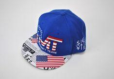 573ae1bd097 The MONEY TEAM Blue USA TMT Snapback Hat Cap Floyd Mayweather Boxing Champ   TMT