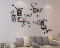 Kvalitná 3D nálepka na stenu Love rámiky na fotografie Acrylic Photo, Collage Picture Frames, Different Light, Detailed Image, Framed Wall Art, Diy, Display, Pictures, Home Decor