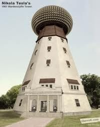 The tower as originally envisioned. Tesla Coil, Tesla S, Tesla Power, Wardenclyffe Tower, Nikola Tesla Quotes, Tesla Inventions, Nicolas Tesla, Radiant Energy, Science