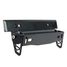 Universal Carbon Fiber Look Car License Plate Frame Holder Racing Style Angle Adjustable Relocate Mount Bracket  sc 1 st  Pinterest & Real Carbon fiber + ABS license plate frame Light weight license ...