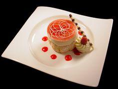 Raspberry Mousse:) My favorite dessert we make!!