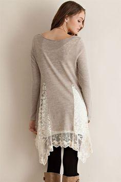 Whimsical Night Sweater Tunic-Sand – Sweet N Sassy Us