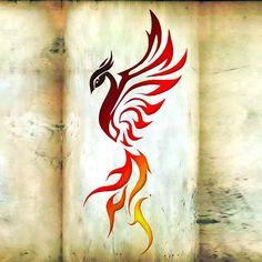 29 Amazing Phoenix Tattoo Ideas You Will Enjoy - Pheonix Art - Phoenix Tattoo Feminine, Tribal Phoenix Tattoo, Small Phoenix Tattoos, Phoenix Tattoo Design, Tribal Tattoos, Small Tattoos, Lfc Tattoo, Tattoo Line, Phoenix Images