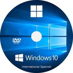 Windows 10 (INTL SPANISH) 32 64bit Home & Pro Upgrade/Install DVD Bootable Disc #Microsoft