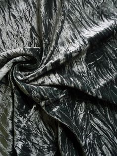 "MAD4877 Crushed Velvet Smokey Green 54"" Wide"