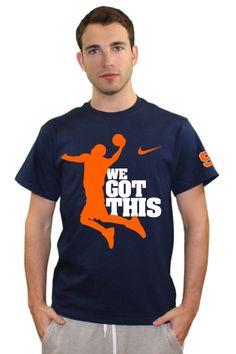 Syracuse orange basketball nike elite navy dri fit for Syracuse orange basketball t shirt