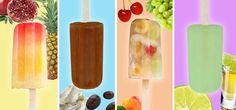 4 recettes rafraîchissantes de sucettes glacées pour adultes