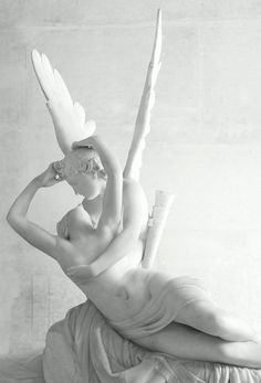 """""""Psyche Revived by Cupid's Kiss"""" Antonio Canova. First version Marble Louvre, Paris; Hermitage Museum, Saint Petersburg Molly would gladly take this statue for her home! Statue Ange, Eros And Psyche, Ange Demon, Hermitage Museum, Auguste Rodin, Beltane, Angels Among Us, Oeuvre D'art, Les Oeuvres"""