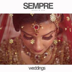 bride ASIAN WEDDINGS © 2015 Sempre photo & film #bride #asianbride #indianbride #sempre #wedding photography #wedding photographer #female photographer