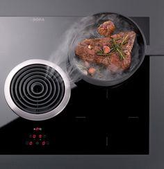 BORA Basic: afzuiging ín de kookplaat!