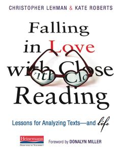 Falling in Love With Close Reading cover