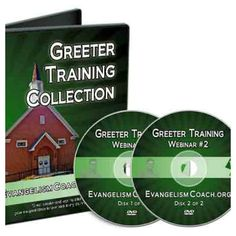 Your church greeters can make a great first impression or an awkward first impression.  However, new church greeters may feel a little nervous about welcoming people.  Help your church greeters with thisset of DVDs (or download) that can be used for greeter training.  Or use these to inspire your own church greeter training if you are the leader of your church greeter ministry.  They are now available in a single boxed set and/or digital only download (details below).  Bonus:  Buy the…