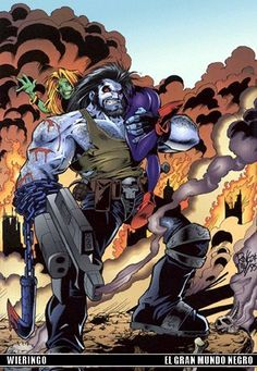ChiLL Yourself with this CooL Lobo comic gallery ... Lobo comic Main Man Hall of Fame - vol1 ...