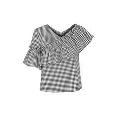 Topshop Petite Gingham Top...I like this top