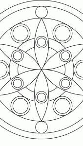 Flower Mandala Design 1 > Flower Mandalas   AMIND