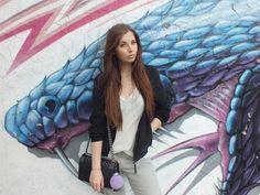 Fashion Love: CONLEYS BLOUSON, CHOKER KETTE & BIKER BOOTS | + CONLEYS…