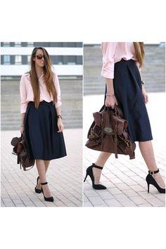 blackfive shirt - Choies skirt
