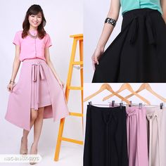 Pridyta Plain Layer Mini Skirt | Sale Stock Indonesia