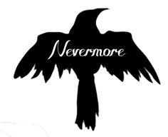 "Since I already have a ""Nevermore"" tattoo, I would love this without the writing in the middle. Absolutely LOVE."