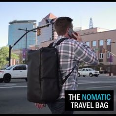 See why the Nomatic Travel Bag raised over 8,500% over it's goal on Kickstarter.