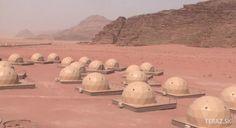 Hotel v Jordánsku ponúka ubytovanie ako na Marse.