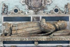 Tomb effigy of Lord Denbigh at the Beauchamp Chapel of St. Mary's Church