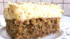 Καρυδόπιτα με κρέμα Greek Sweets, Greek Desserts, Greek Recipes, Greek Rice, No Bake Cake, Banana Bread, Cupcake Cakes, Cheesecake, Food And Drink