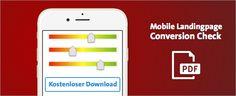 Mit Hilfe dieser 8 Bewertungskriterien bauen Sie zuverlässig Ihre mobile Landingpage - Bonus: das Raster als kostenloses PDF zum Download