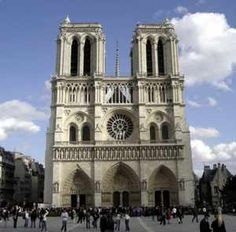 Notre Dame. Magnificent! I can't imagine how this was constructed without modern technology.