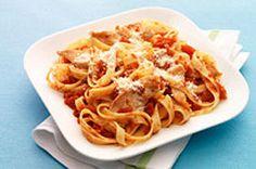 Chicken-Parmesan Pasta Toss