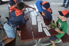 Cub Scout Activities: Promise Puzzle Game