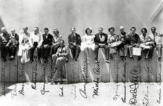 cast pub still - you can't take it with you 1938 by carbonated, via Flickr