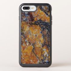 Grungy Brown Faux Marble Print Speck iPhone Case - faux gifts style sample design cyo