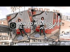 💫 how to make polarr filter | tutorial #4 - YouTube Photography Filters, Youtube, How To Make, Youtube Movies