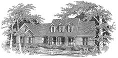 Eplans Country House Plan - Three Bedroom Country - 2297 Square Feet and 3 Bedrooms from Eplans - House Plan Code HWEPL64443
