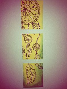 Dream catcher painting!