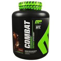 Muscle Pharm Combat Powder 4lb -  Ultimate Timed-Release Protein! Rock Bottom Fitness
