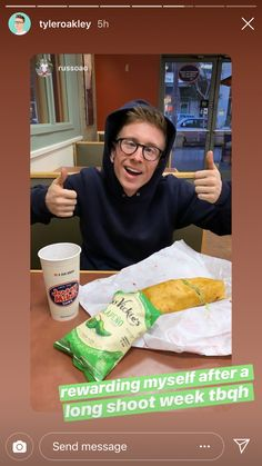 Tyler Oakley, Send Message, Messages, Food, Essen, Meals, Text Posts, Yemek, Eten