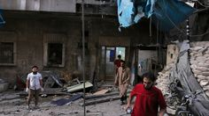 US turns ire on Russia as Aleppo descends into 'slaughterhouse' - Irish Times