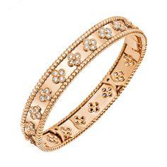 Van Cleef & Arpels Perlée Bangle Bracelet