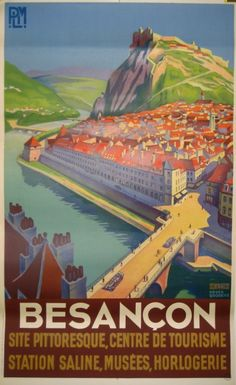 By Roger Broders, c 1 9 3 0, Besançon, Jura, France.